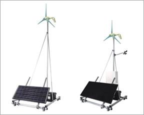 家庭用風力・太陽光ハイブリッド発電システム アウル/ECO-10ZXPシステム